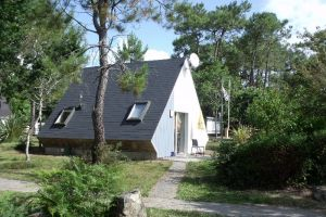 Campsite France Brittany, Location chalet